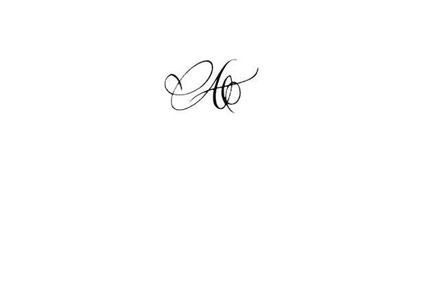 Tatouage Lettre Calligraphie M Et C Tatouage