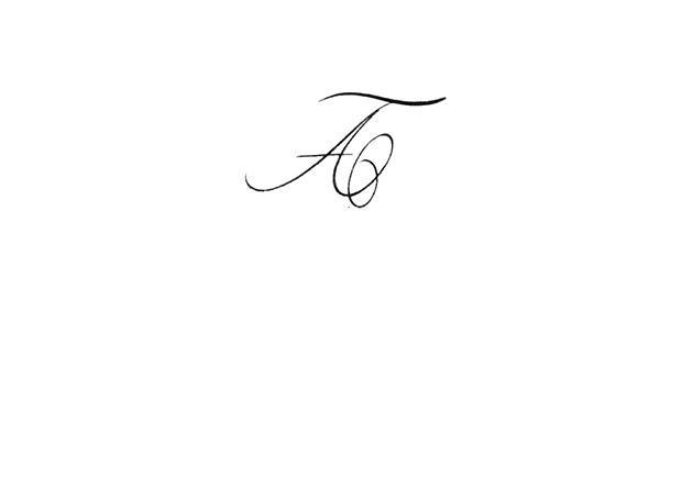 Calligraphe paris calligraphie paris tatouage lettre a - Tatouage lettre l ...