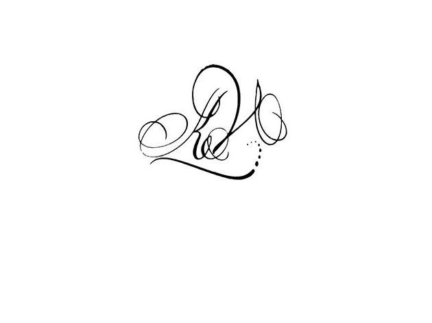 Calligraphe paris calligraphie paris tatouage lettres - Tatouage 3 prenom ...